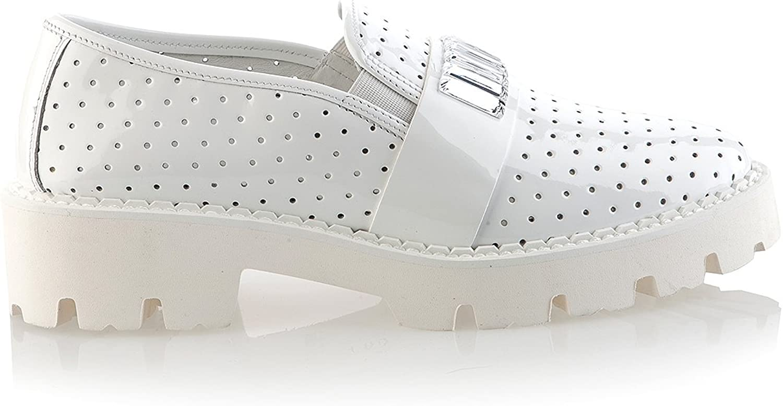 Baldinini 6332 Italian Leather White shoes