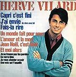 Songtexte von Hervé Vilard - Capri, c'est fini