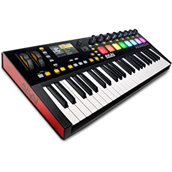Akai Professional Advance 49 | 49-Key Virtual Instrument Production Controller with Full-Color LCD Screen & 10K Sounds Download