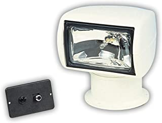 Jabsco 60020 Series, 135SL Marine Remote Control Halogen Searchlight, Joystick Control,  100000 CP