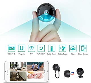Innoo Tech WiFi Mini Hidden Spy Camera HD 1080P Wireless Portable Small Camera with Motion Detection and Night Version Home Security Cameras Nanny Cam Video Recorder