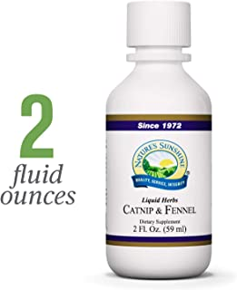 Nature's Sunshine Catnip & Fennel, 2 fl. oz. | Catnip and Fennel Liquid Contains Both Natural Minerals and Vitamins to Aid in Digestion and Support The Nervous System