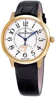 Jaeger LeCoultre Rendez-Vous Silver Guilloche Dial Automatic Ladies Watch Q3441420