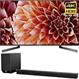 Sony 65-Inch 4K Ultra HD Smart LED TV 2018 Model (XBR65X900F) 7.1.2ch 800W Dolby Atmos Sound Bar (Electronics)