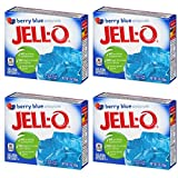 Jell-O Berry Blue 85 g (Pack of 4)