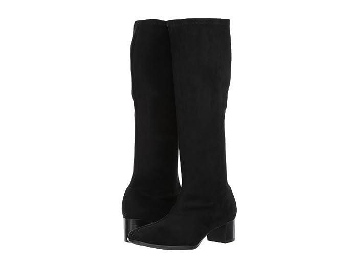 Munro  Newbury (Black Stretch Fabric) Womens Pull-on Boots