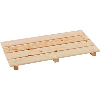 池川木材 【国産】 桧 多目的すのこ 600-4枚打 (60×30.4×3.7cm)