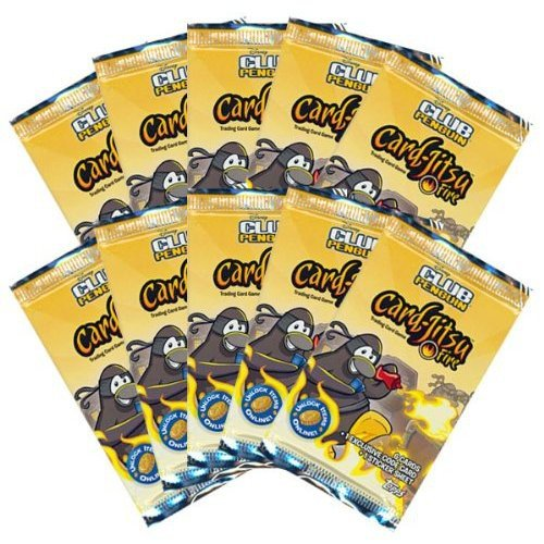 Topps Club Penguin CardJitsu Fire Series 3 Lot of 10 Booster Packs by Club Penguin