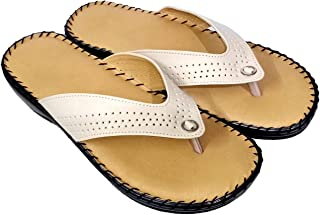 saanvishubh Comfort Doctor Sole Faux Leather PU Sole Slippers for Girls and Women