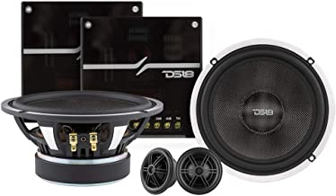 "$229 » DS18 DX2 Deluxe 6.5"" 2-Way Quality Component Speaker System - 460 Watts, 4 Ohm - Set with Woofer, Tweeter, and Crossover (..."