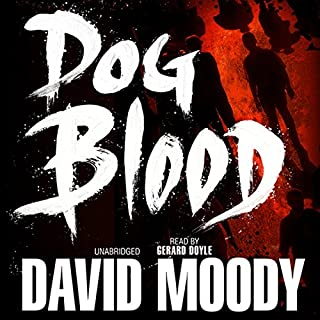 Dog Blood audiobook cover art