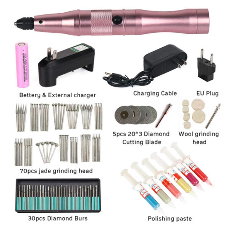 一掃する台風悲鳴電気レタリングペン、手持ち小型金属彫刻ツール、ポータブル電気彫刻ペン、電気ドリルツール、ハンドドリルロータリー電気ツール,D