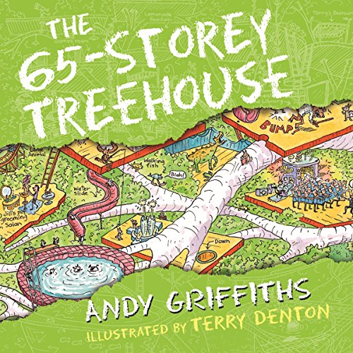 The 65-Storey Treehouse audiobook cover art