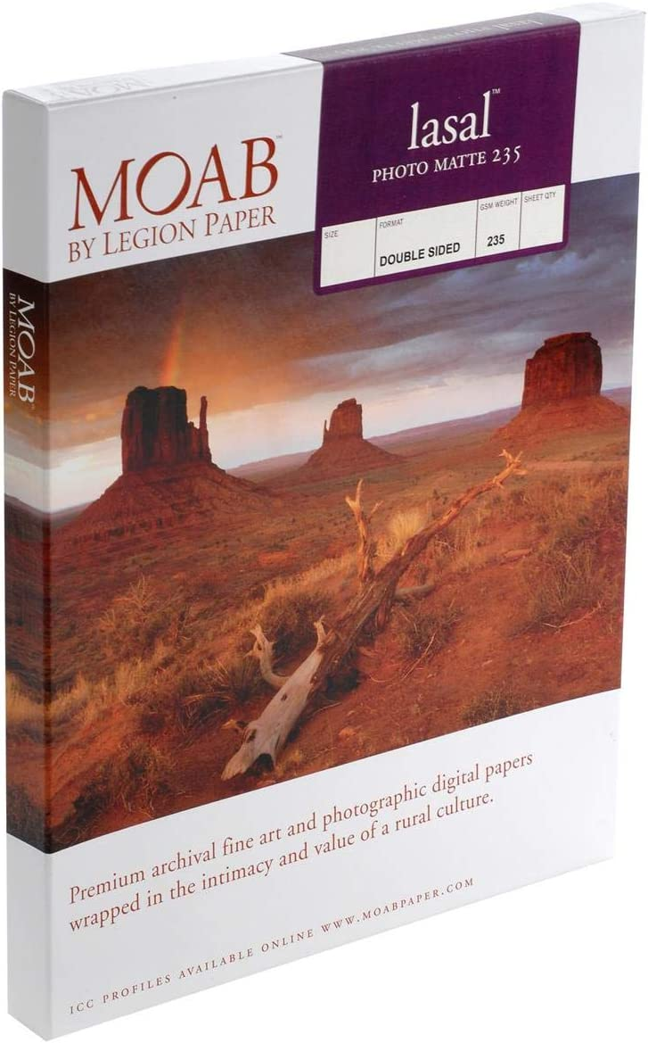 Moab Lasal Super New products, world's highest quality popular! popular specialty store Photo Matte Double Scor Archival Sided Bright White
