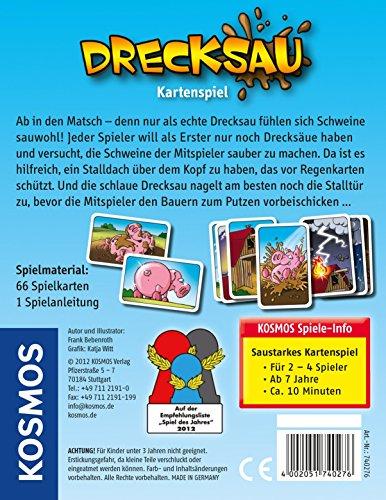 Kosmos 740276 – Kartenspiel Drecksau - 2