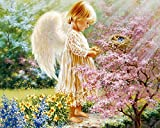 Jigsaw Puzzles 500 Pieces for Children - White Wings Little Angel - Wooden Entertainment Toys Puzzle