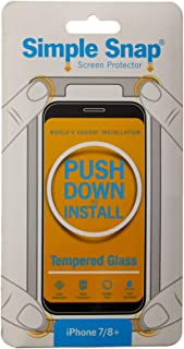 Simple Snap Screen Protector for IP8+/7+ - Clear