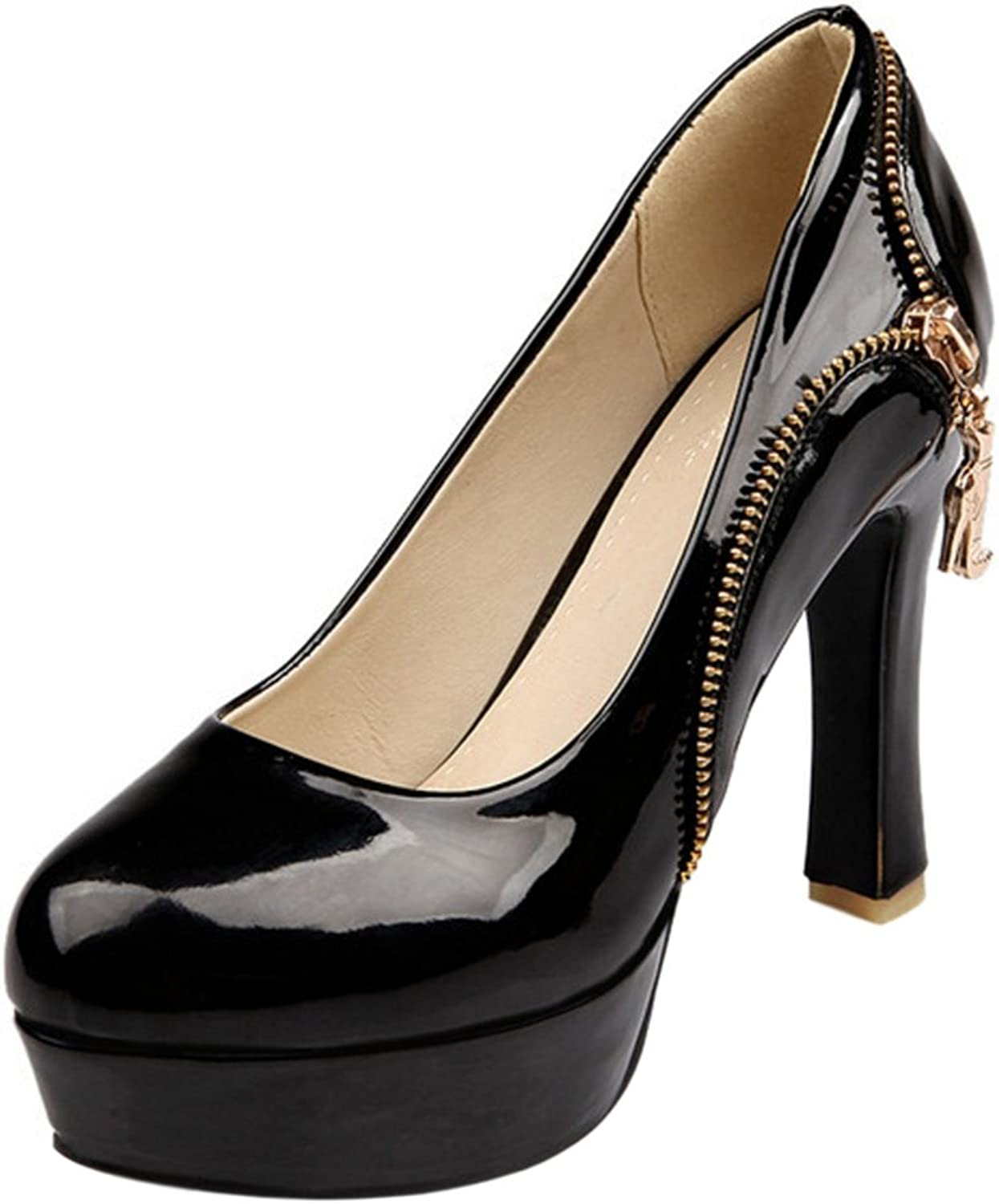 ELEEMEE Women Fashion High Heel Party Pumps