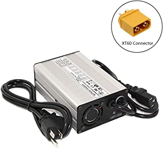 42V 3A Charger for 10S Li-ion Battery Pack 4.2V10=42V Battery Smart Charger Support CC/CV (42V3A XT60)