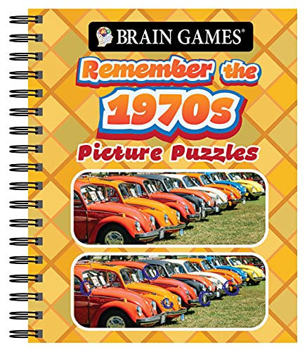 Brain Games - Picture Puzzles: Remember the 1970s