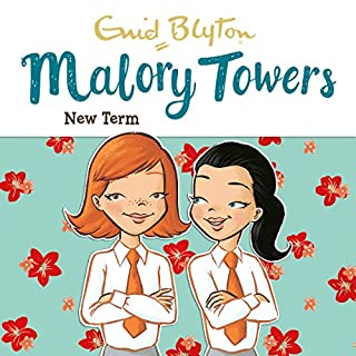 Malory Towers: New Term     Malory Towers, Book 7              By:                                                                                                                                 Enid Blyton,                                                                                        Pamela Cox                               Narrated by:                                                                                                                                 Esther Wane                      Length: 4 hrs and 46 mins     35 ratings     Overall 4.7