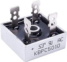 Hilitand 10pcs 50A 1000V Redresseur Pont Diode Monophas/é de Haute Puissance KBPC5010
