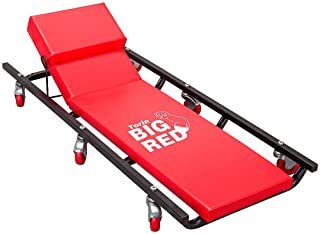 "BIG RED TR6452 Torin Rolling Garage/Shop Creeper: 40"" Padded Mechanic Cart with Adjustable..."