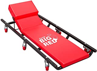 "BIG RED TR6452 Torin Rolling Garage/Shop Creeper: 40"" Padded Mechanic Cart with.."