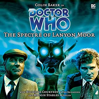Doctor Who - The Spectre of Lanyon Moor audiobook cover art