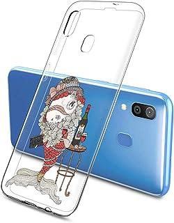 Oihxse Funda Dibujos Animal Lindo Compatible Samsung Galaxy Elefante 31/M80S Carcasa Transparente Clear Silicona TPU Gel S...