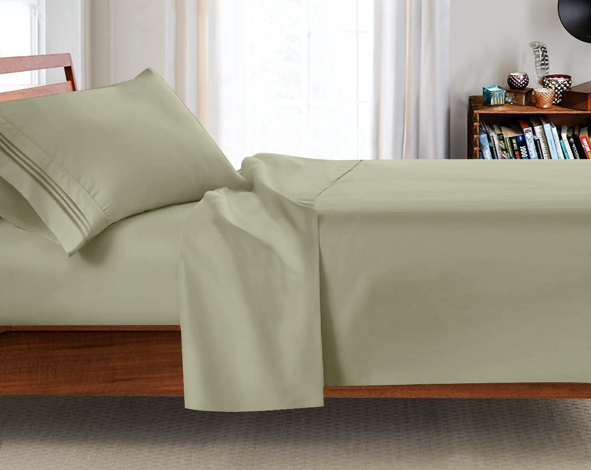 College Dorm Room 3Pc Bed Spring new work Sheet Set Long 8 Twin-Extra Size 39