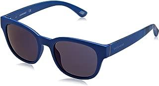 SE6021 Gafas de Sol, Azul (Matte Blue/Blu Mirror), 50 Unisex Adulto