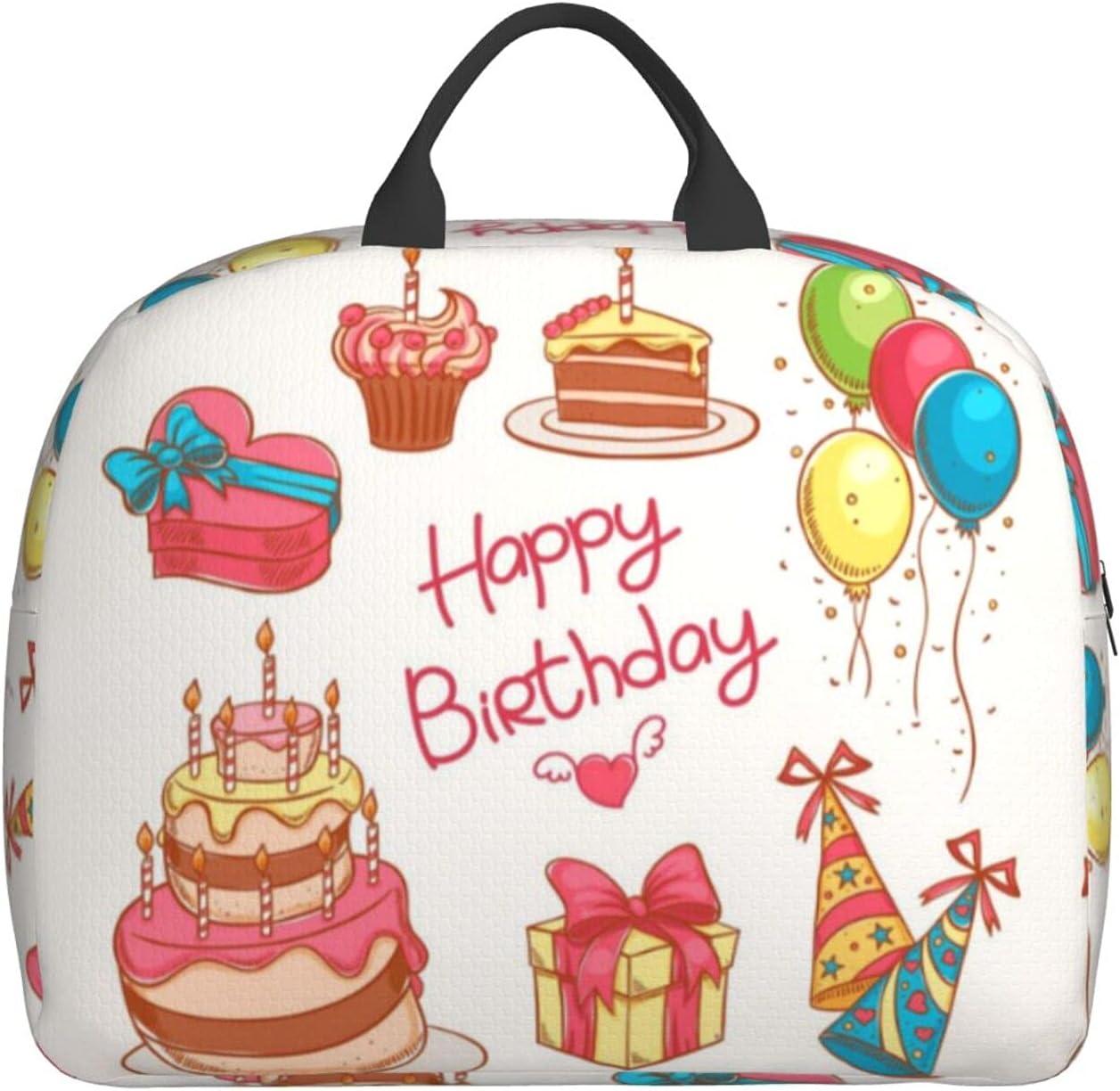 Folding Travel Duffel Bag Happy Birthday Carry Gifts Ranking TOP6 Wat Cake On Boston Mall