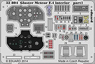 Eduard Photoetch 1:32 - Gloster Meteor F.4 interior S.A. (HK Models 01E05) - (EDP32804) by Eduard