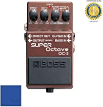 Boss OC-3 SUPER Octave Pedal with 1 Year Everything Music Extended Warranty