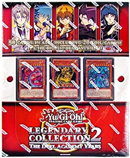YuGiOh GX Legendary Collection 2 Duel Academy Years Includes 28 Foil Cards!