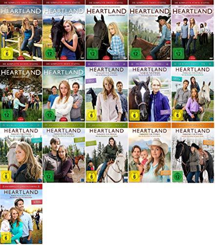Heartland - Paradies für Pferde Staffel 1-12 (1+2+3+4+5+6+7+8.1+8.2+9.1+9.2+10.1+10.2+11.1+11.2+12, 1 bis 12) [DVD Set]
