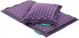 comprar comparacion Set - 2 unidades: Pranamat ECO + PranaPillow, La esterilla y la almohada de masaje terapéutico (Lavanda/Lavanda)