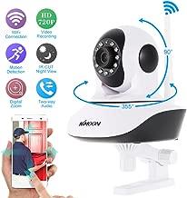 KKmoon Wireless Wifi 720P HD H.264 P2P 1MP AP IP CCTV Network Home Surveillance IR Security Camera P/T Webcam with TF Card Slot