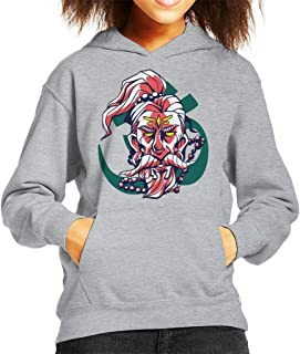 Cloud City 7 Guru and Om Symbol Kid's Hooded Sweatshirt