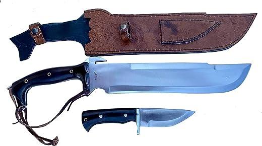 """EGKH - 14"""" Predator EUK Knife, EGKH Survival Machete, Military Hunting Khukuri or Kukris Handmade by EGKH in Nepal"""