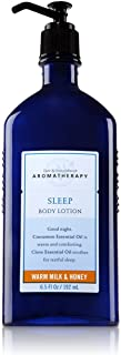 Sleep - Warm Milk & Honey Bath Body Works Aromatherapy BODY LOTION lot of 1 new