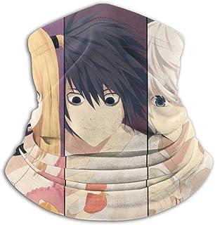 Diadema Death Note Yagami Light Lawliet L Amane Misa Mello (Death Note) Anime Winter Balaclava Scarf Diadema para Hombres y Mujeres