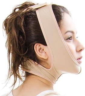 V Face Shaper Apparaat Facial Lifting Bandage Kin Nek En Dubbel Gezicht Liposuctie Postoperatief Wondmasker (maat: S)