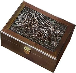 Jewellery Boxes Organisers Jewellery Box Jewelry Box Large-Capacity Jewelry Storage Box Earrings Necklace Display Box Desktop Dust Jewelry Cosmetics Finishing Box Jewellery Boxes Organisers