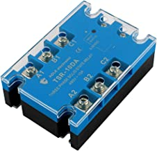 uxcell TSR-10DA 3-32VDC to 480VAC 10A Three Phase Solid State Relay Module DC to AC Authorized