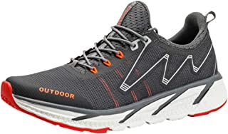 Yamall Men'S Tourist Shoes Flying Weaving Running Shoes Leisure Sports Shoes