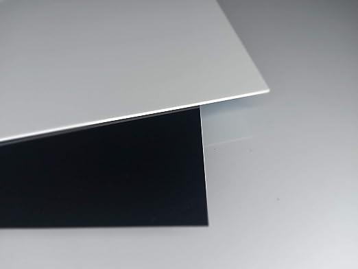3mm XT Acryl-Zuschnitt//Plexiglas-Platte schwarz 75 x 35 cm