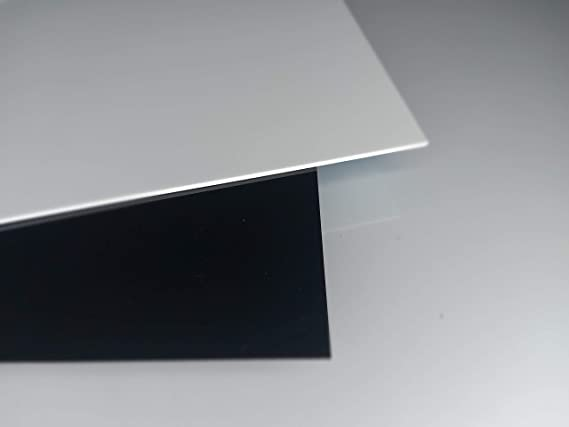 Acryl-Zuschnitt//Plexiglas-Platte schwarz 70 x 30 cm 3mm XT