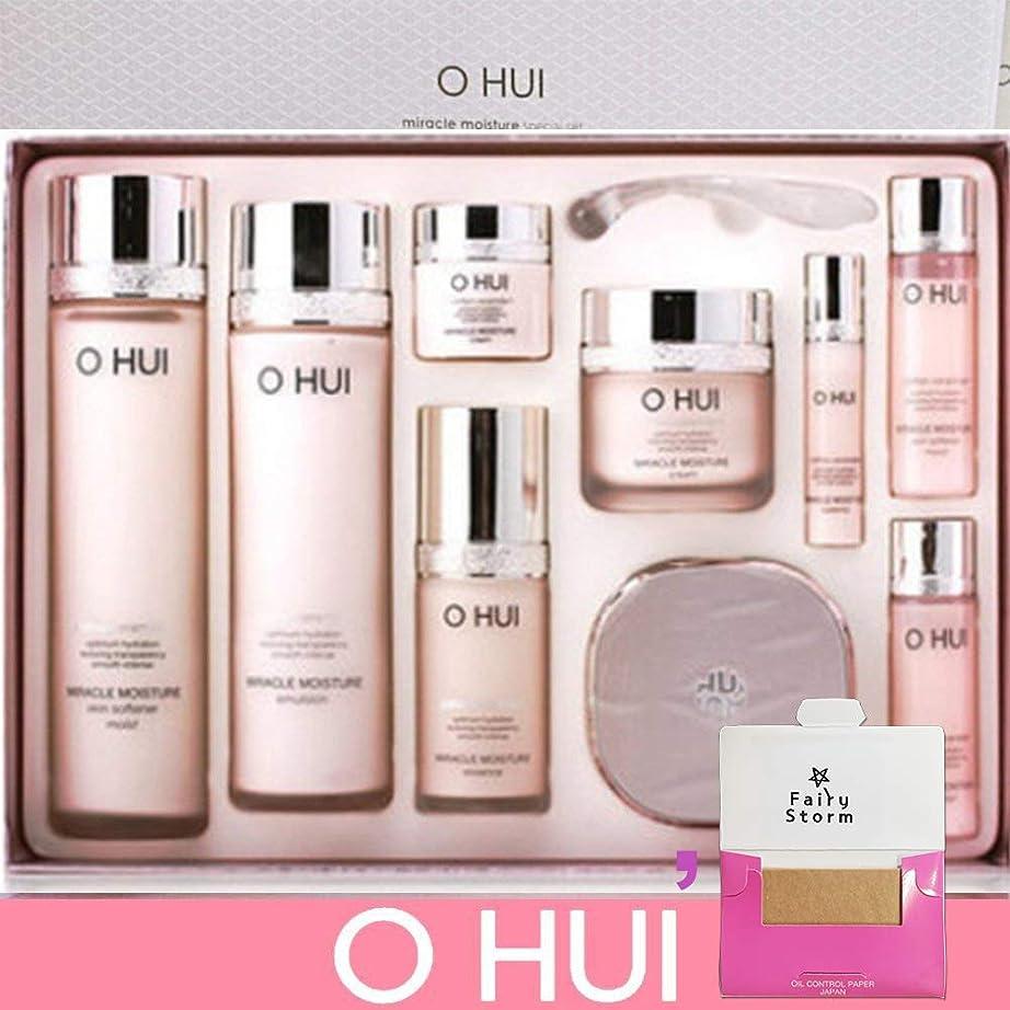 直径率直なフェリー[オフィ/ O HUI]韓国化粧品 LG生活健康/ O HUI MIRACLE MOISTURE SPECIAL SET/ミラクルモイスチャー スペシャル 4種 企画セット + [Sample Gift](海外直送品)